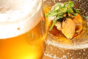 mejillon galicia y cerveza