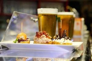 Cerveza y tapa