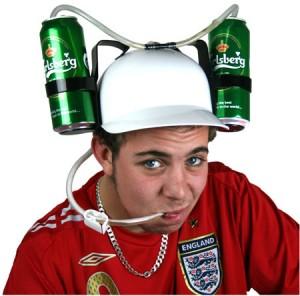 Gorra porta cerveza