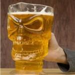 Jarra de cerveza-calavera