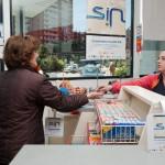 Difusión de los materiales de la campaña en estaciones de servicio