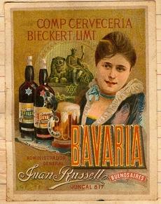 Cartel Cerveza Bavaria