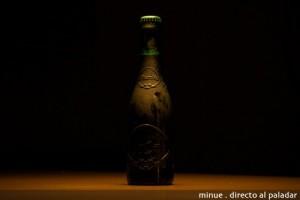 Botella de cerveza Alhambra de coleccionista