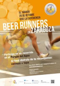 Cartel Beer Runners Zaragoza