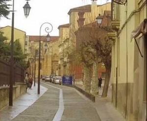 Calle del Barrió Romántico de León