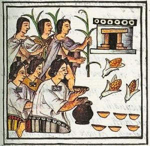 Cerveza de aztecas