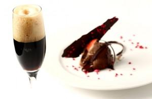 cerveza negra con chocolate