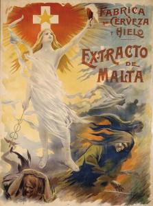 Placa esmaltada publicidad