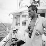 Paul Newman cerveceando