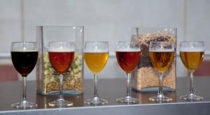 Varias cervezas perfectas