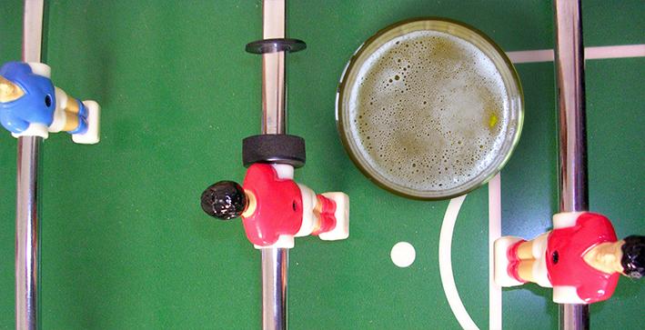 Cervecear en el Mundial de Fútbol
