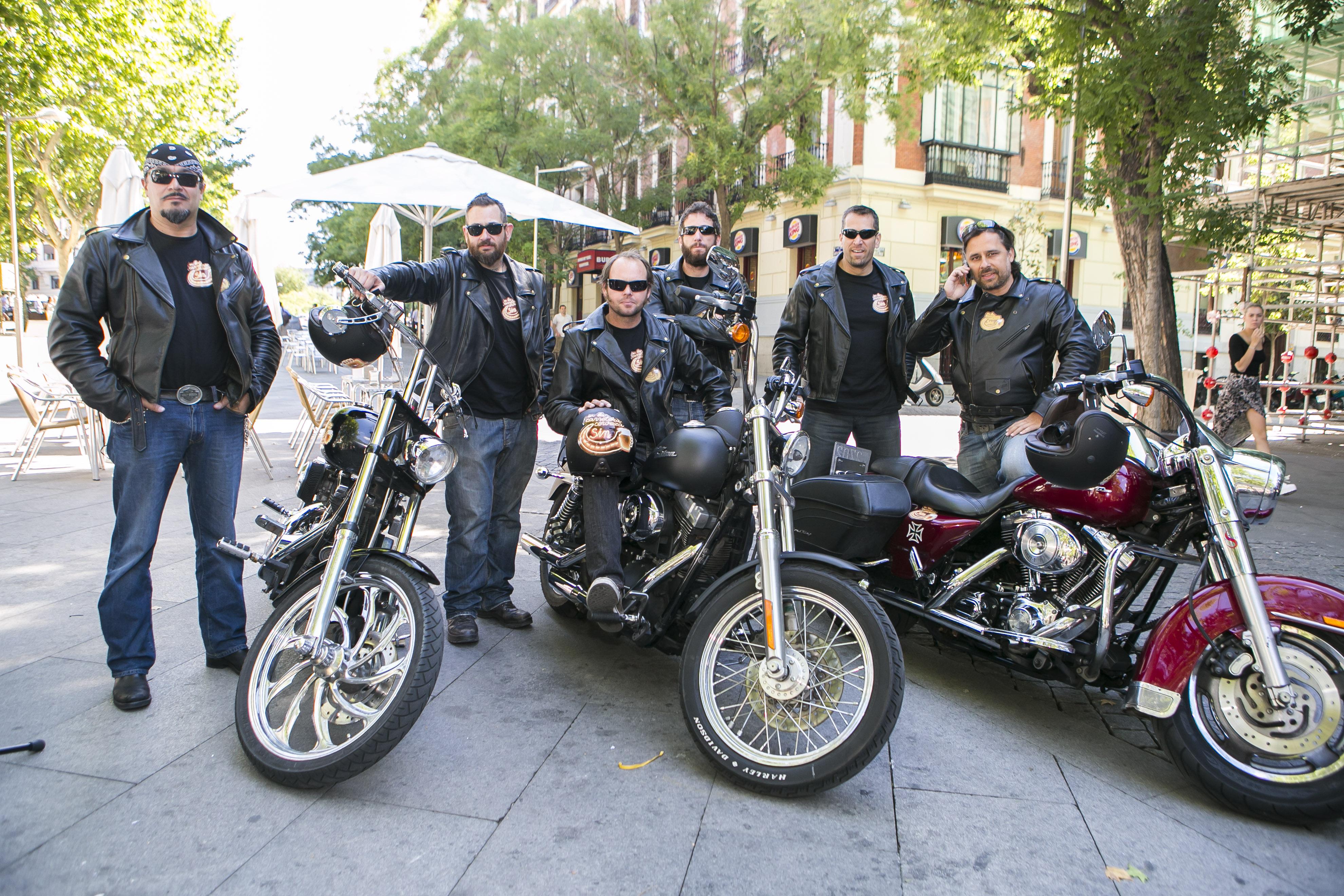 SIN-Riders en ruta