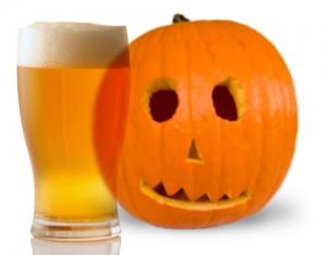 Cerveza en halloween