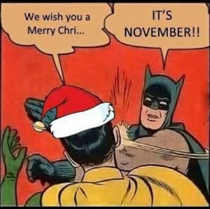 ¡Que estamos en noviembre!