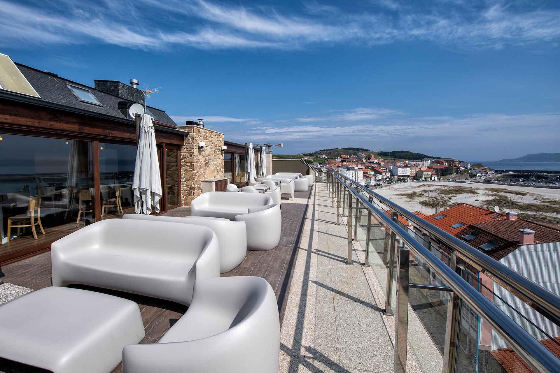 Azotea Hotel Mar de Laxe